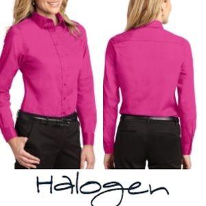 HALOGEN Long Sleeves Button Down Shirt